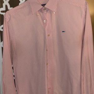 Men's Vineyard Vines button down whale shirt